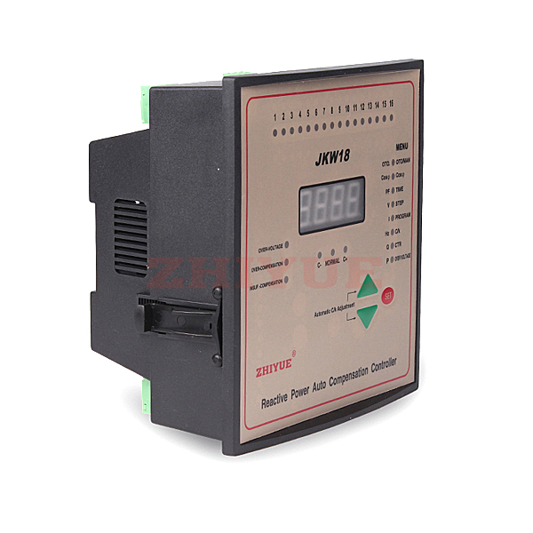 JKW18 intelligent low voltage reactive auto compensation controller
